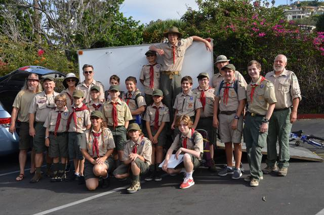 Laguna Beach Troop 35 - 2017 Lost Valley Summer Camp
